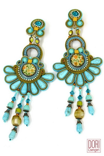 Alegra earrings from Dori Csengeri
