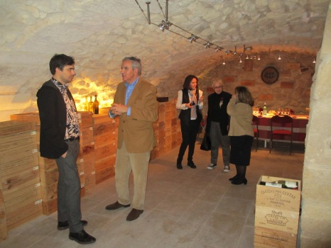 At the De Vinis Illustribus cellar