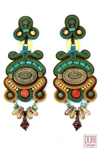 Toscana earrings by Dori Csengeri