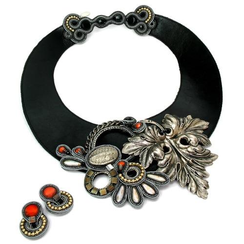 Winona necklace & earrings by Dori Csengeri