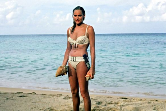 Ursula Andress, iconic Bond girl