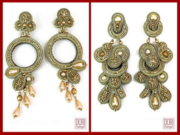 Venus earrings by Dori Csengeri