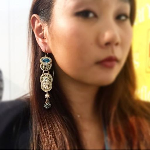 elegance earrings at ny now
