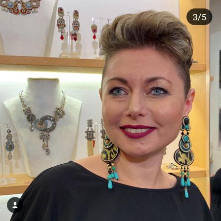 zaphirah earrings - marina
